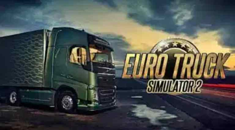Euro Truck Simulator 2 PPSSPP ISO Zip Android Download