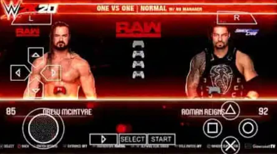 About WWE 2K20 PSP ISO