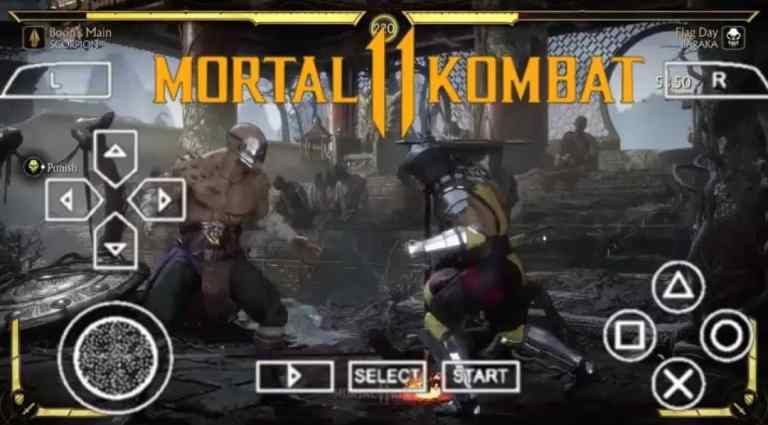 Mortal Kombat 11 PPSSPP ISO Zip File Download for Android