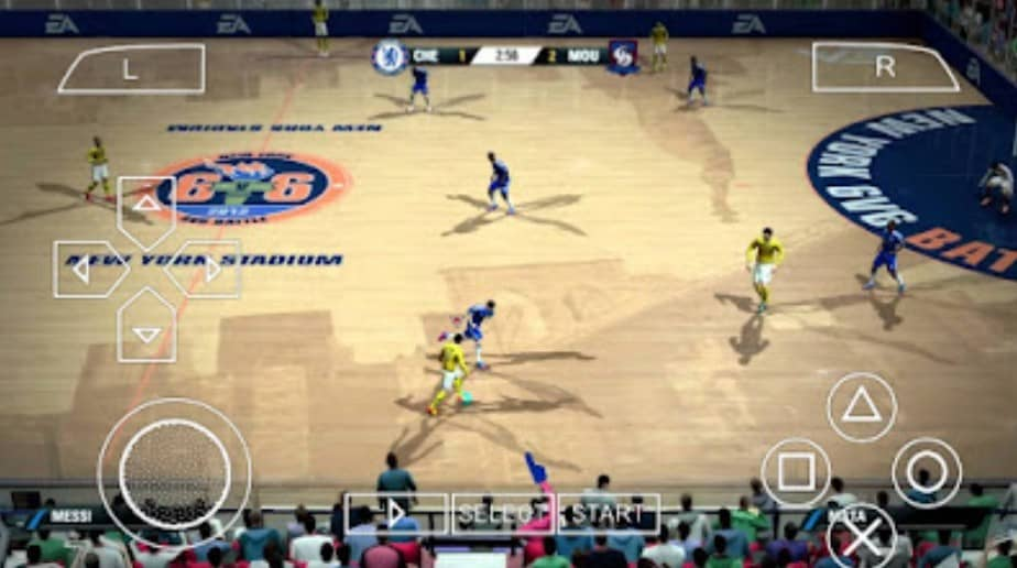 Features of FIFA Street 4 PSP