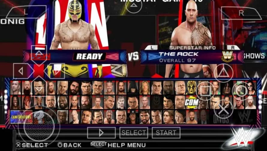 About WWE 2K22 PPSSPP ISO