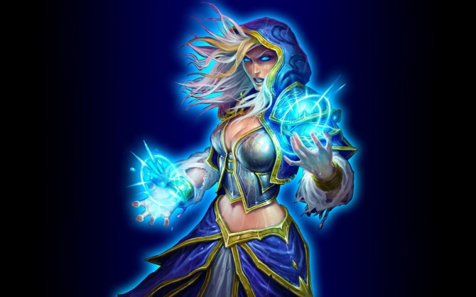 hearthstone_wallpaper___jaina_v2_by_mgbeach-d6tqdox