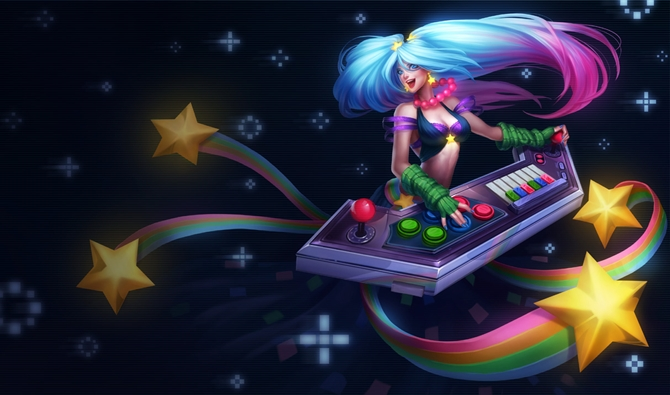 Sona_Arcade_Splash