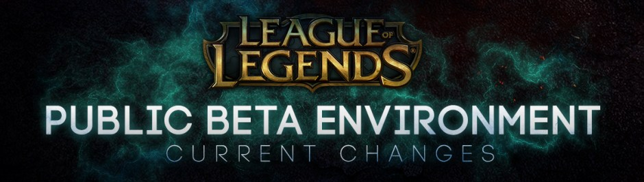 PBE CUrrent Changes