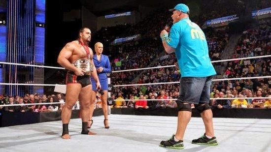 Rusev & John Cena