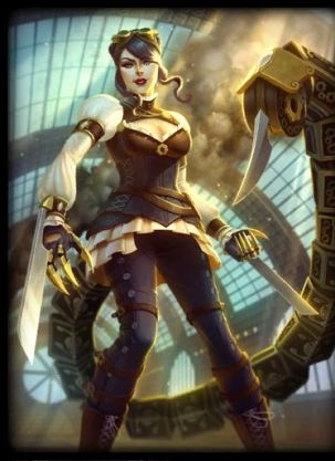 Serqet_SteamPunk_Card