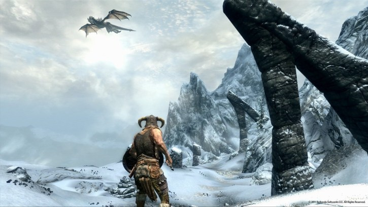 The-Elder-Scrolls-V-Skyrim-Dragon1