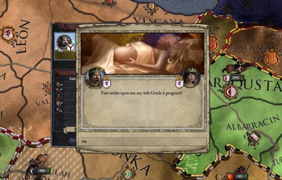 CKII-pregnant
