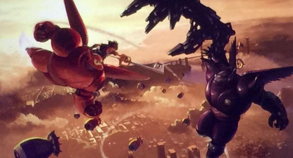 Big-Hero-6-Concept-Art-Kingdom Hearts 3