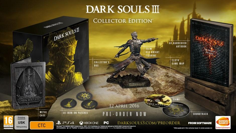 dark souls 3 collectors