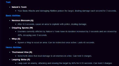 lunaras abilities