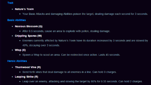 lunaras abilities