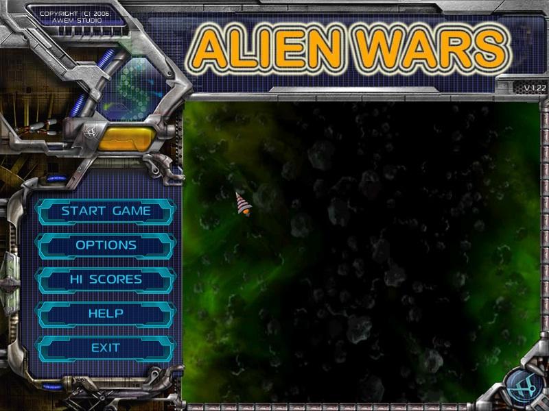 alien wars main