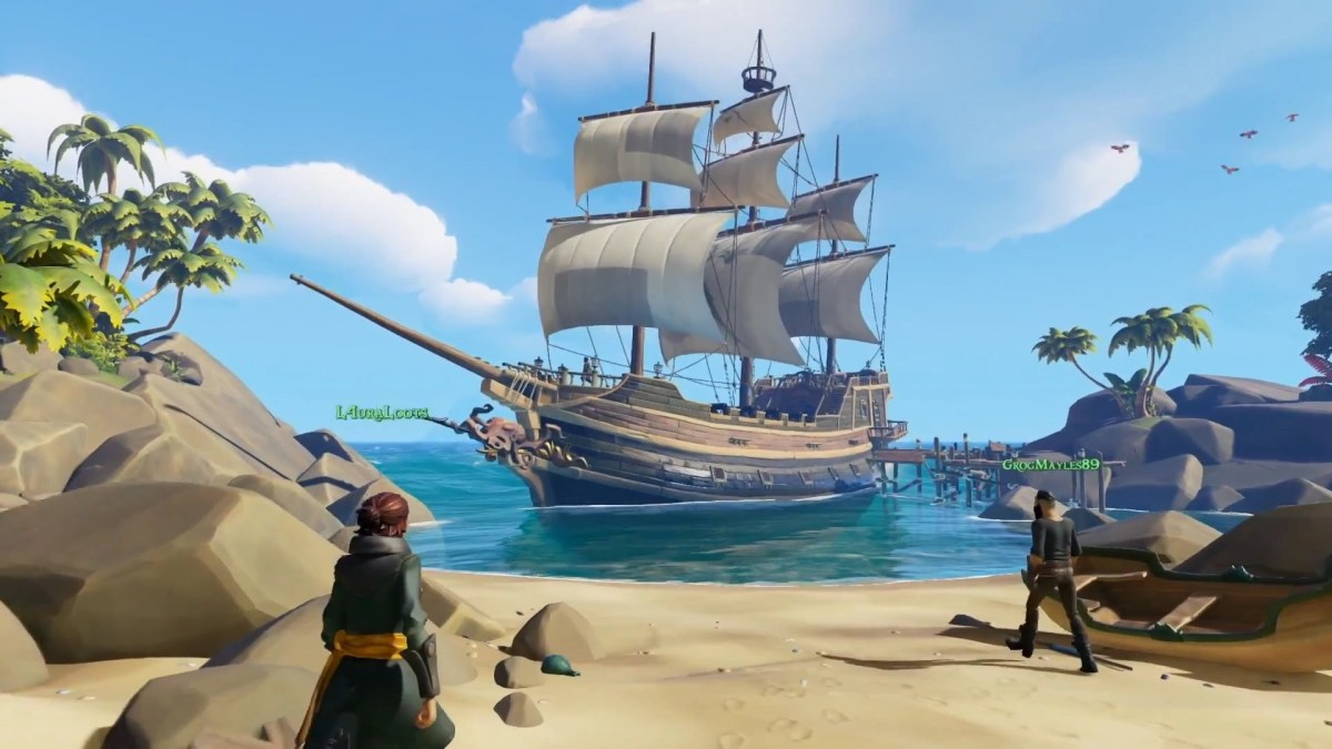 Δείτε το gameplay launch trailer για το Sea of Thieves