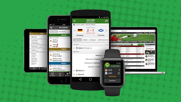 eScore: Μια εφαρμογή για livescores σε συσκευές Android & iPhone