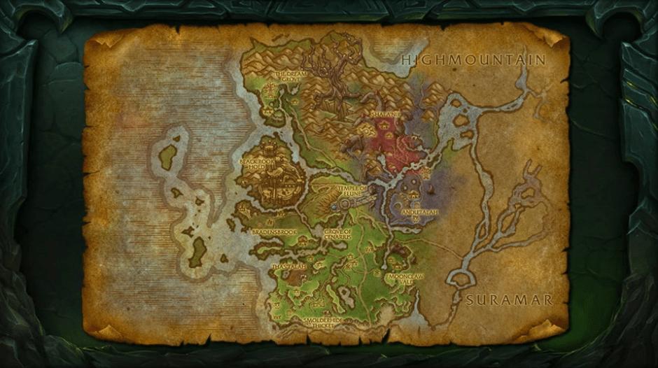 Valsharah-Map