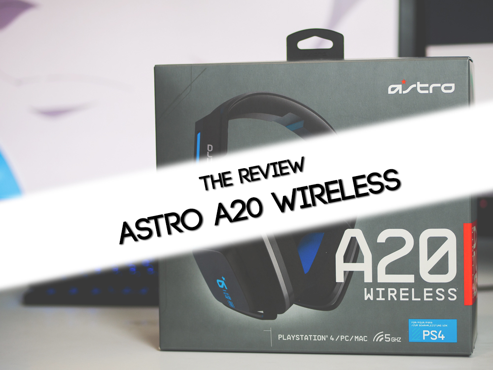 Wireless Headset Review | Astro Gaming A20 | The Midrange Peak