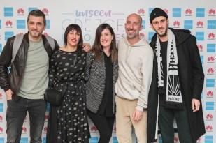Instagrammers, από αριστερά προς δεξιά, Δημήτρης Μιχαηλίδης, Λία Παυλοπούλου, Ειρήνη Γιωτοπούλου, Φάνης Παυλόπουλος, Άρης Κατσιγιάννης