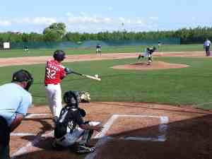 Josh Wood Bat Tournament 4-7-13