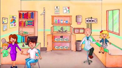 لعبة my play home hospital للاندرويد