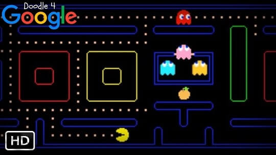 Popular Google Doodle Games