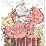 『閃の軌跡II』エビテン限定特典 川元利浩氏描き下ろしB2タペストリーのラフイラストが公開