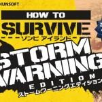 PS4『How to Survive:ゾンビアイランド ストームワーニングエディション』配信日が約1ヶ月の延期に