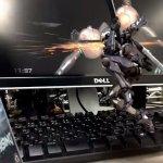 雷電フィギュアが見事な斬奪を披露!プラチナゲームズが『メタルギアライジングR』2周年記念ストップモーションムービーを制作