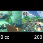 『マリオカート8』200ccはまさに爆速!150ccとの比較動画が公開