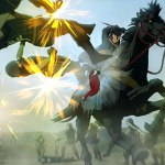 『アルスラーン戦記×無双』絵筆で敵を蹴散らせ!「ナルサス篇」TVCFが公開。騎乗戦闘に関する情報も