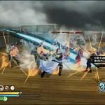 PS4/Vita『銀魂乱舞』飛空戦艦ステージ&ボスバトル(vs泥水次郎長)のゲームプレイデモムービー