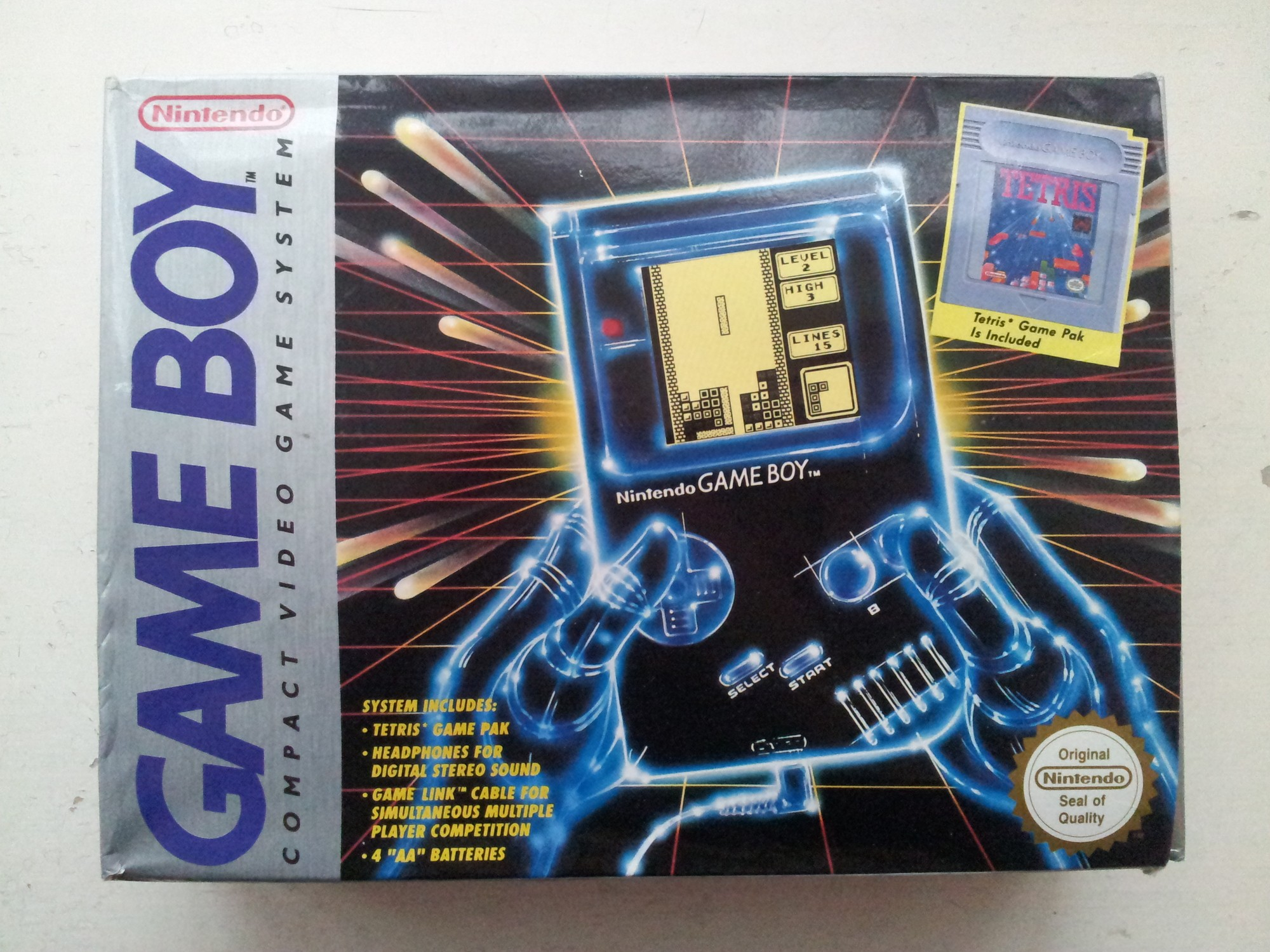 Image result for game boy ad with tetris