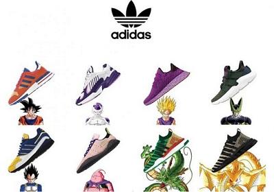 Zapatillas de Adidas Dragon Ball