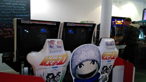 National Video Game Museum Arcade
