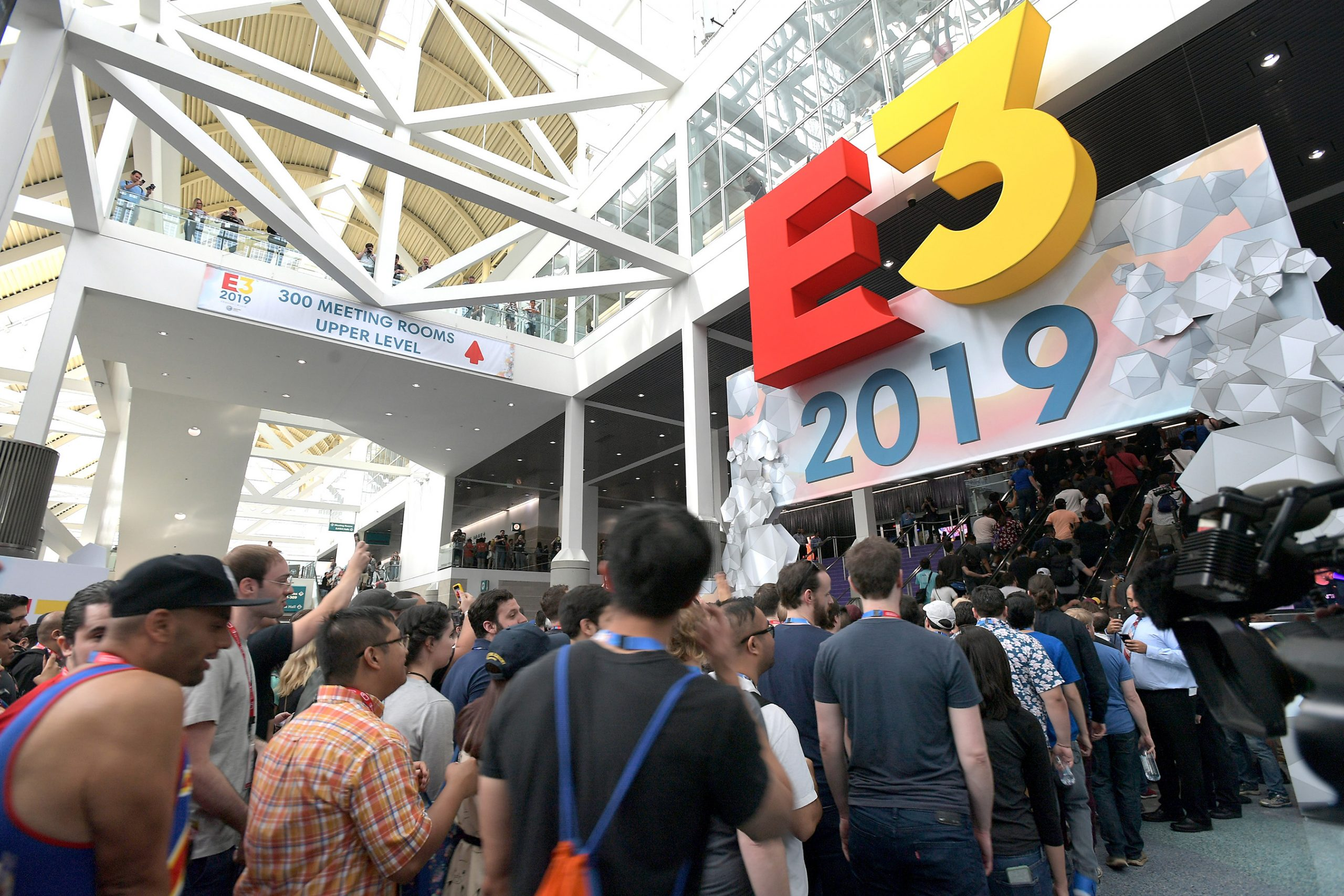 E3 - The World's Premier Event for Video Games  South Hall - Day 1
