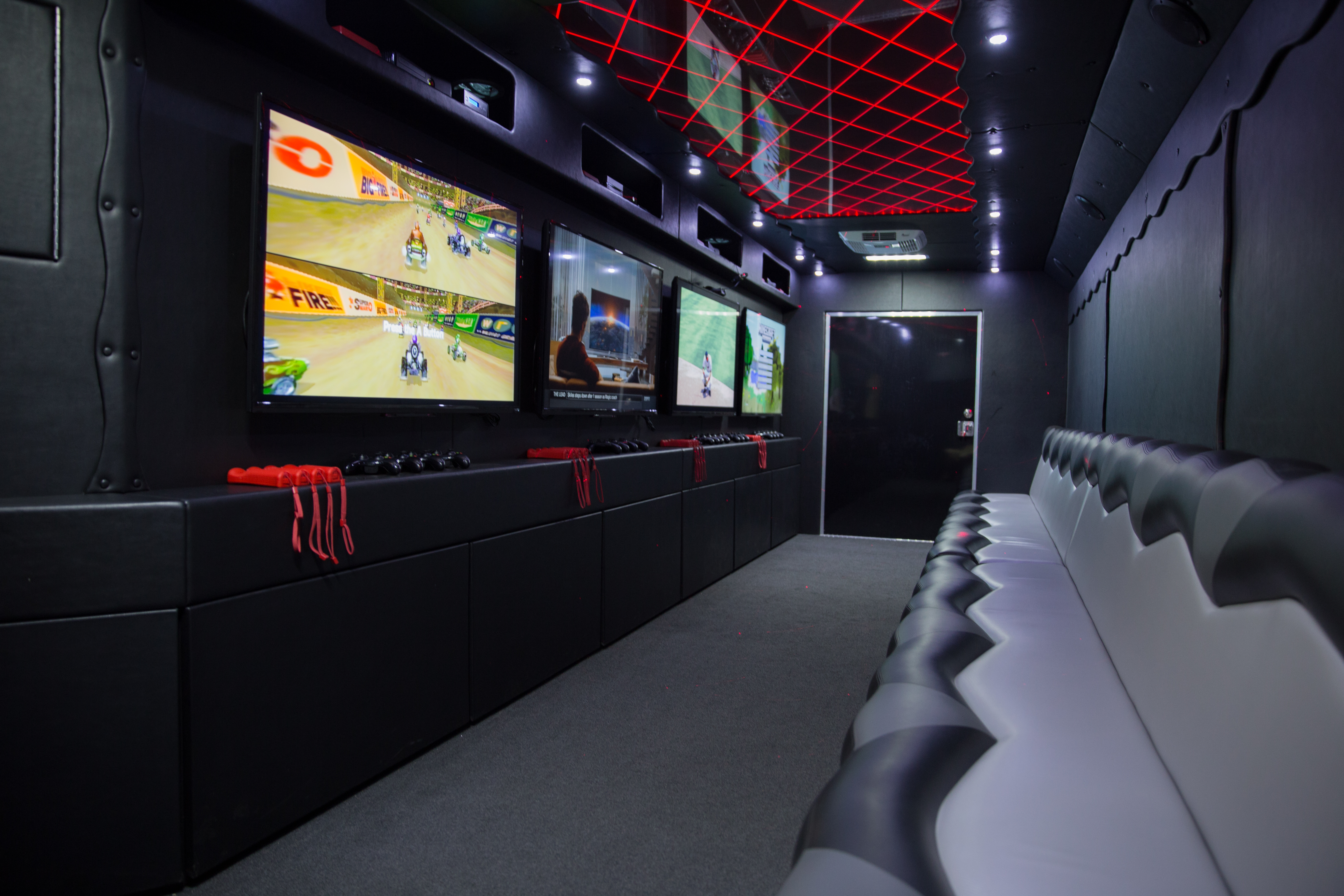 Interior Gallery Jacksonvilles Premier Game Truck And Laser Tag