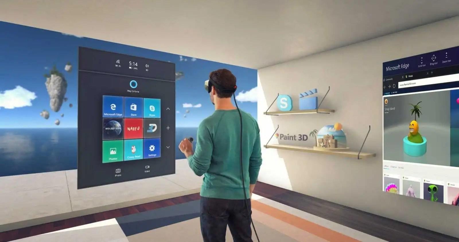Microsoft e la mixed reality: ecco i nuovi motion controller