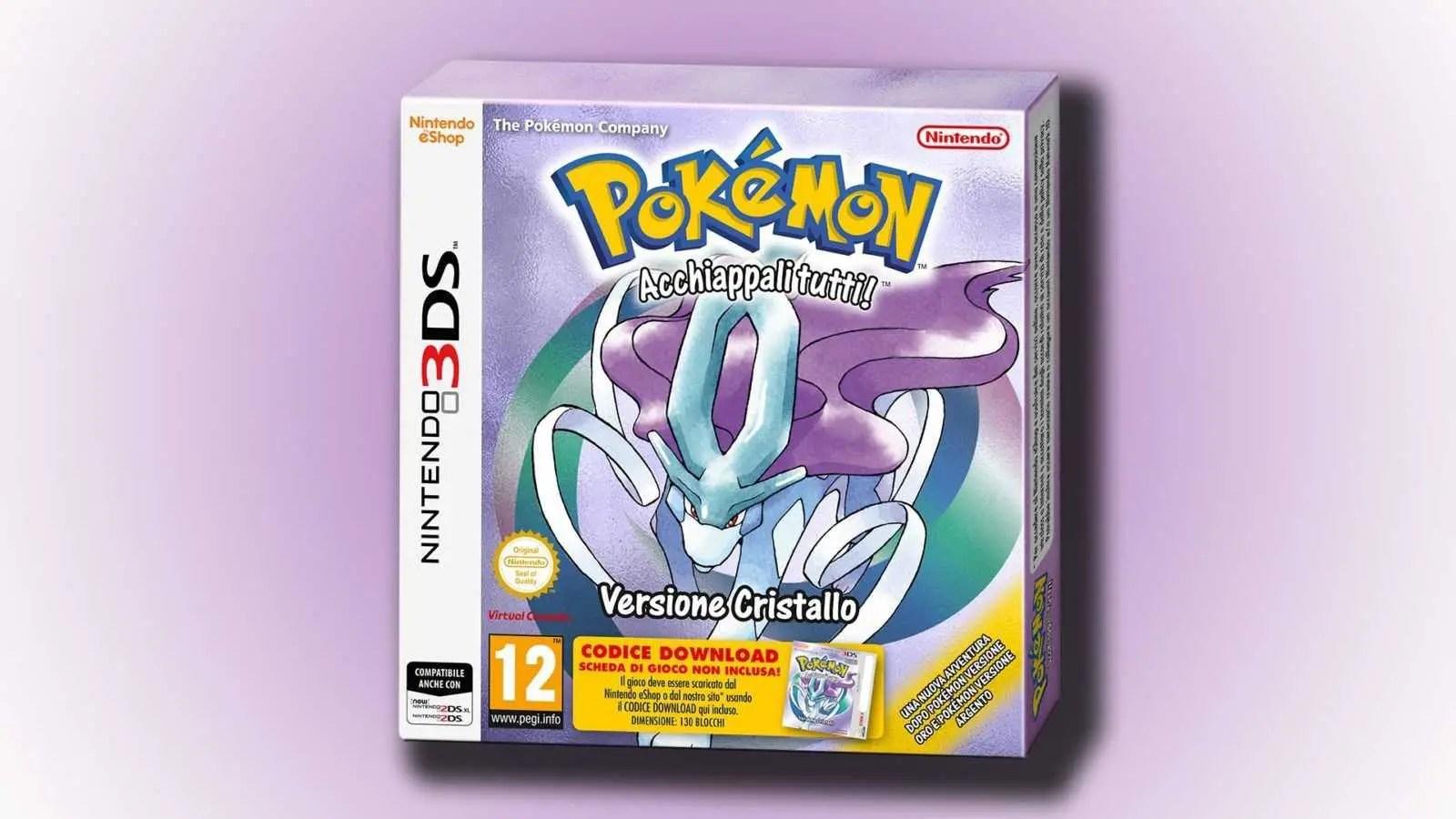 Pokémon Cristallo torna su Nintendo 3DS
