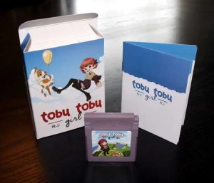 tobu tobu girl game boy cartuccia