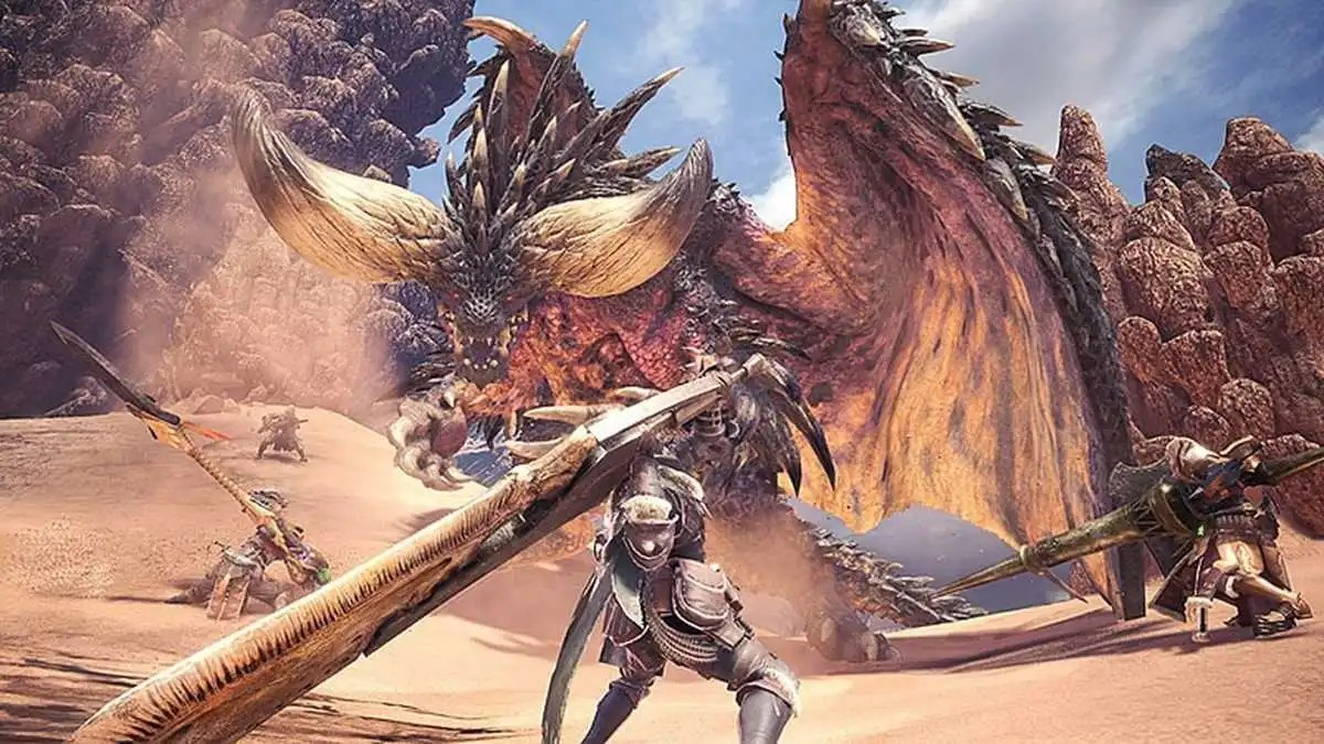 Monster Hunter World: rivelato il peso su PlayStation 4