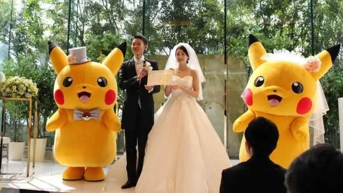 Matrimonio pokémon
