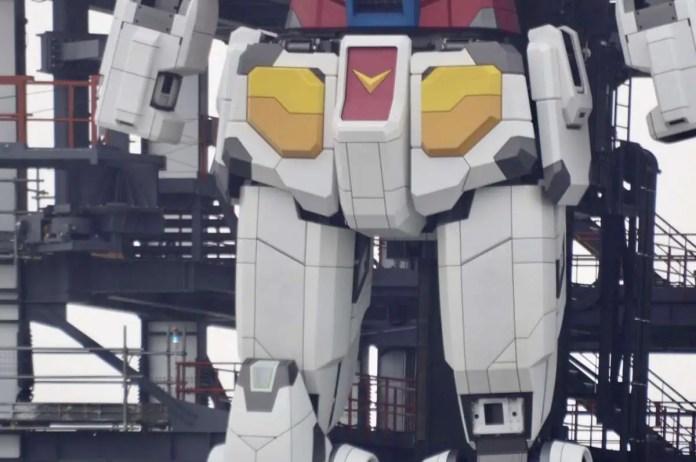 Gundam reale giappone gundamfactory yokohama cammina 3