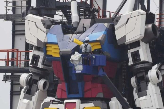 Gundam reale giappone gundamfactory yokohama cammina 7