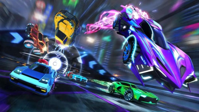 rocket league free to play epic store games