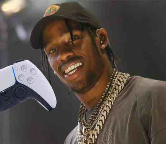 Travis Scott PS5 Dualsense