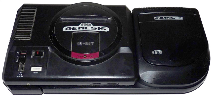 How-to-connect-Hook-Up-SEGA-CD-2-Clam-Tray-Loader-to-Genesis