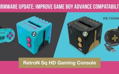 RetroN Sq HD – Firmware Update