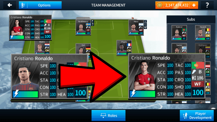 How to import Real Ronaldo Face in Dream League Soccer 2018