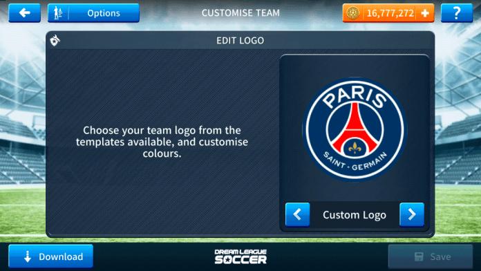 PSG 2018-2019 Logo & Kits For Dream League Soccer