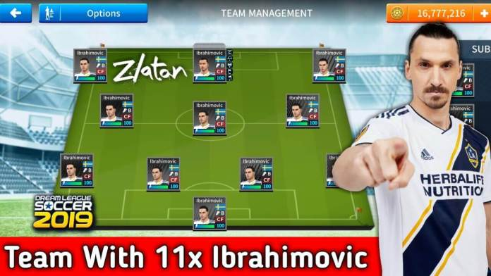 Zlatan Ibrahimović Team Dls